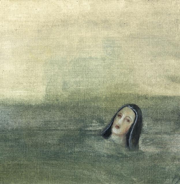 La patrona de Almería no quiso venir en barca... By Laia Arqueros